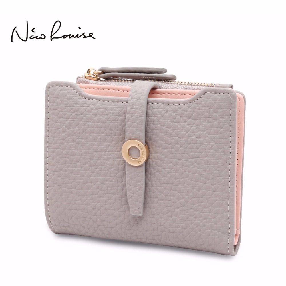 2017 Latest Lovely Leather Small Women Wallet Fashion Girls Change Clasp Purse Money Coin Card Holders Kids Wallets Carteras women short wallet vintage coin purse clutch clip lovely animal prints soft leather small purse carteras mujer sacoche homme