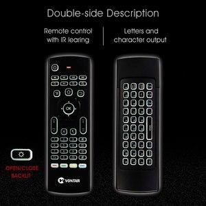Image 4 - MX3 télécommande vocale intelligente 2.4G, gyroscope et infrarouge à rétroéclairage, pour Box TV Android T9 X96 mini H96 max