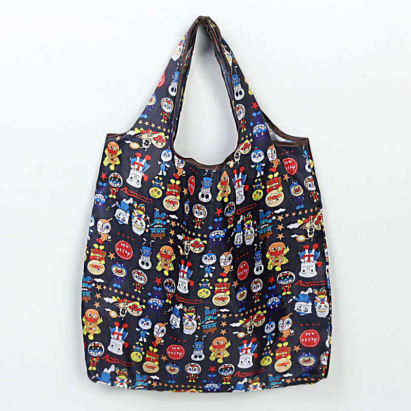 2019 New Women Tote Shopping Bag Lady Foldable Oxford Cloth ECO Reusable Fruit Grocery Pouch Recycle Organization Bag