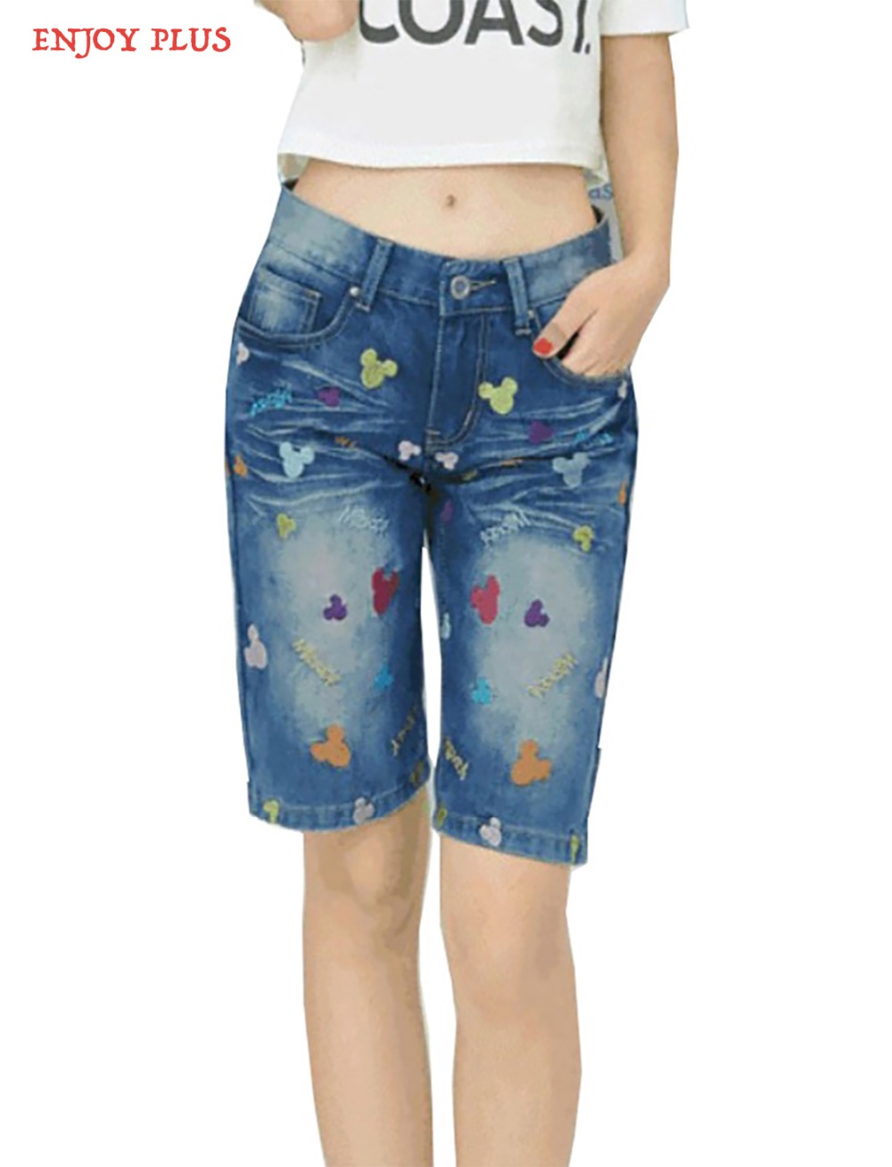 Online Buy Wholesale knee jean shorts from China knee jean shorts ...