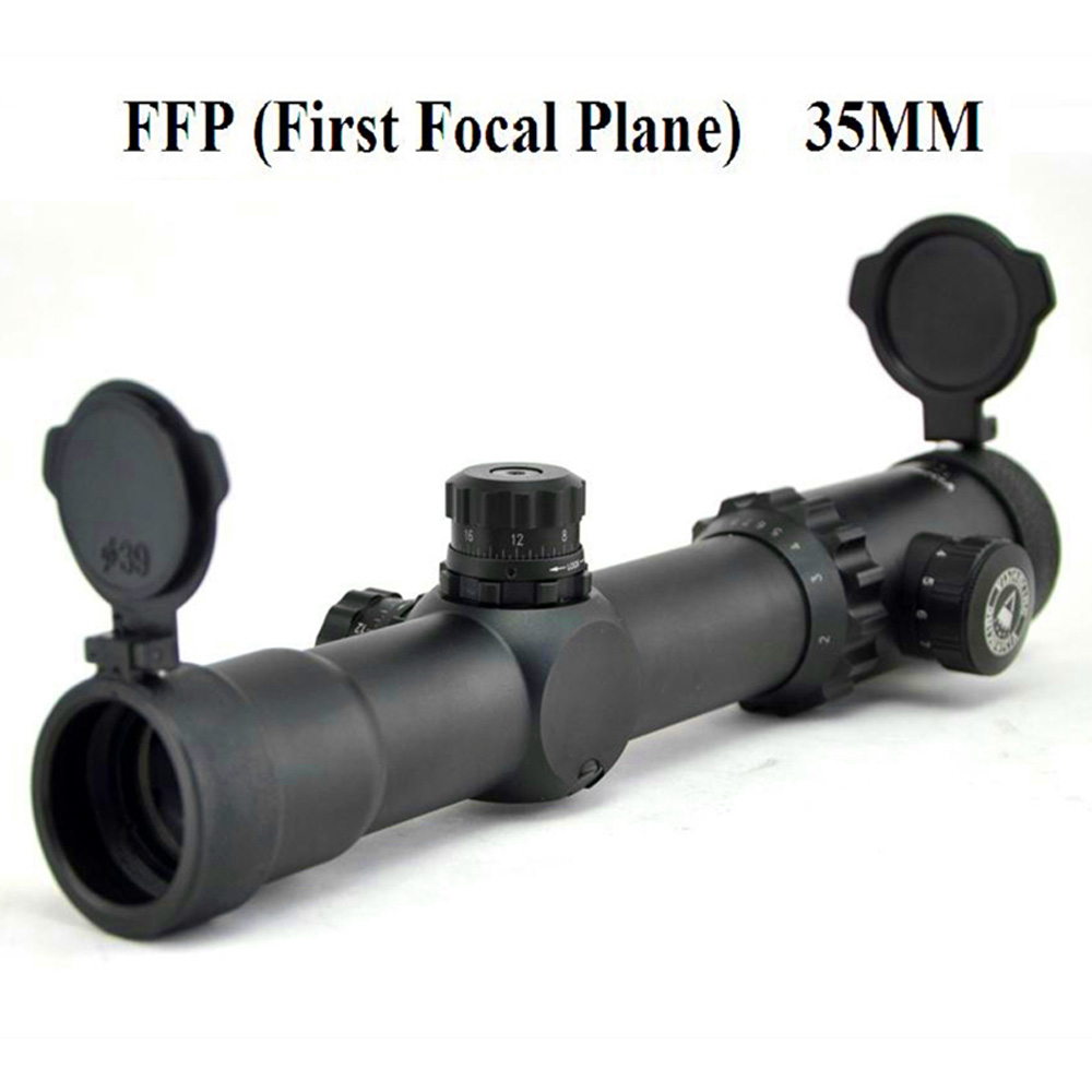 Visionking 1-10X30 FFP Hunting Riflescope First Focal Plane Fully Multi-coated Rifle Scope Tactical Scope W/21mm Mounting Rings
