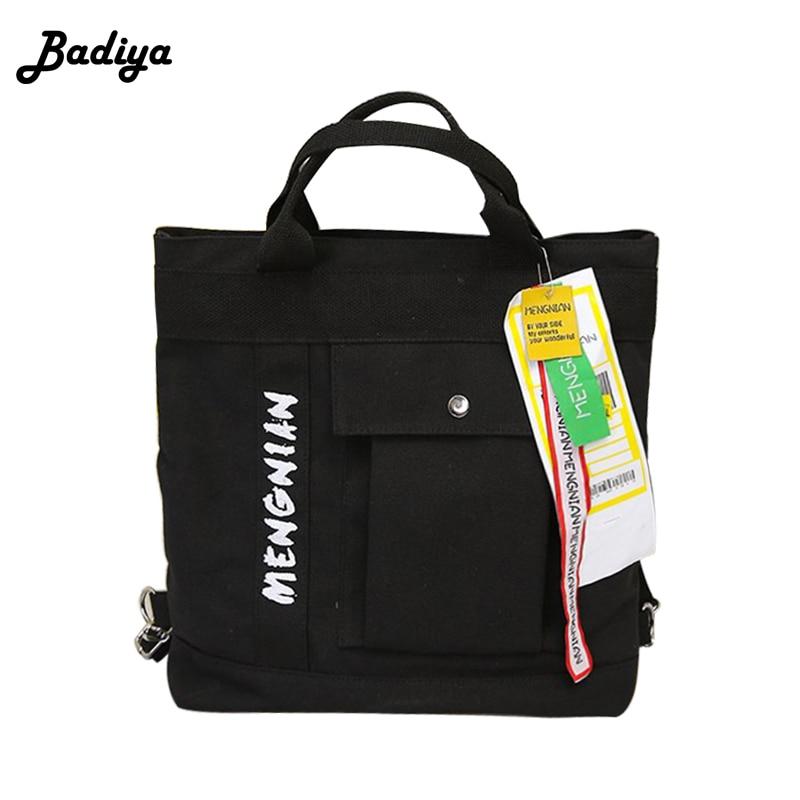 2018 Fashion Women Canvas Tote Bag Strap Shoulder Bag Casual Shopping Handbags