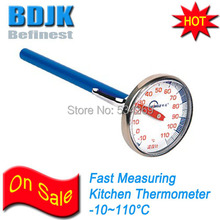 New Kitchen Thermometer with 129mm Probe Testing Food Temperature Instrument