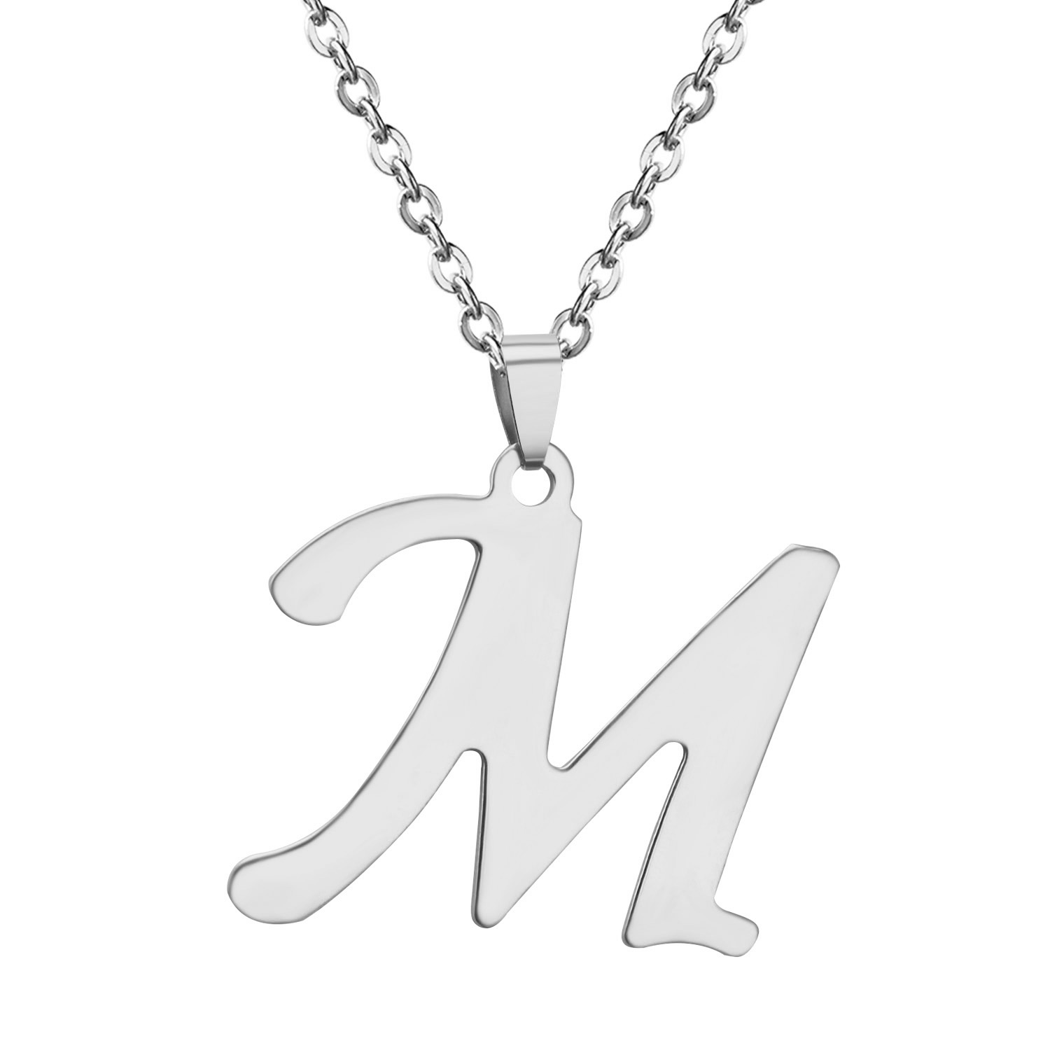 initial necklace name color arabic stainless hot item letter steel jewelry choker gold alfabet body from alphabet in women personalized necklaces chain custom fashion men pendant collar silver