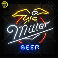Neon Sign for miller Neon Bulbs Beer Acade decor Love Display Bar Express shop Neon Light up wall Neon Signs for Room Letrero
