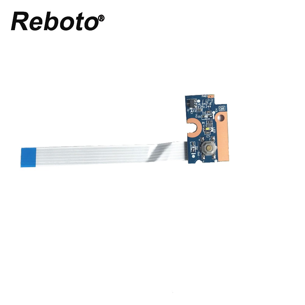Reboto Origina NEW For HP G42 G56 G62 G72 CQ42 CQ56 CQ62 CQ72 laptop switch button board 4EAX1PB0000 DA0AX1PB6E0 100% Tested
