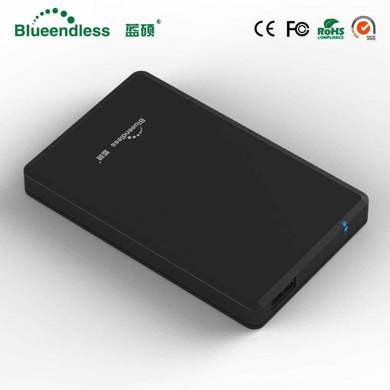 New product External mechanical hard drive 1TB Sata III to USB 3.0 tool free plastic hdd enclosure 6gbps hard disk blueendless ugreen hdd enclosure sata to usb 3 0 hdd case tool free for 7 9 5mm 2 5 inch sata ssd up to 6tb hard disk box external hdd case