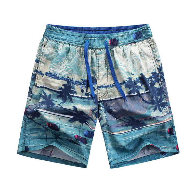 Coconut Tree Pattern Holiday Mens   Board     Shorts   Swimwear Men Beach   Shorts   Comfortable Loose Workout   Shorts   Running Jogger   Shorts