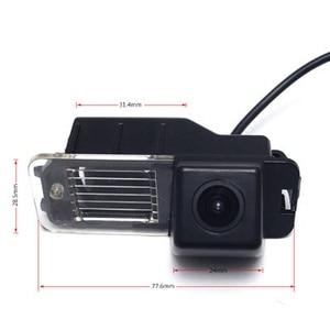 Image 5 - HD araba ters kamera Volkswagen Magaton Golf Passat CC Polo gece görüş otomatik dikiz kamera araç kamerası