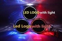 Qirun LED emblem Star Light DRL for Mercedes Benz B180 B200 Front Grille LED LOGO Hollow Emblem Daytime Running light