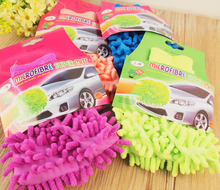 Top Fashion Car Wash Glove Ultrafine Fiber Chenille Soft Towel Microfiber Cars Cleaning Care Detailing For
