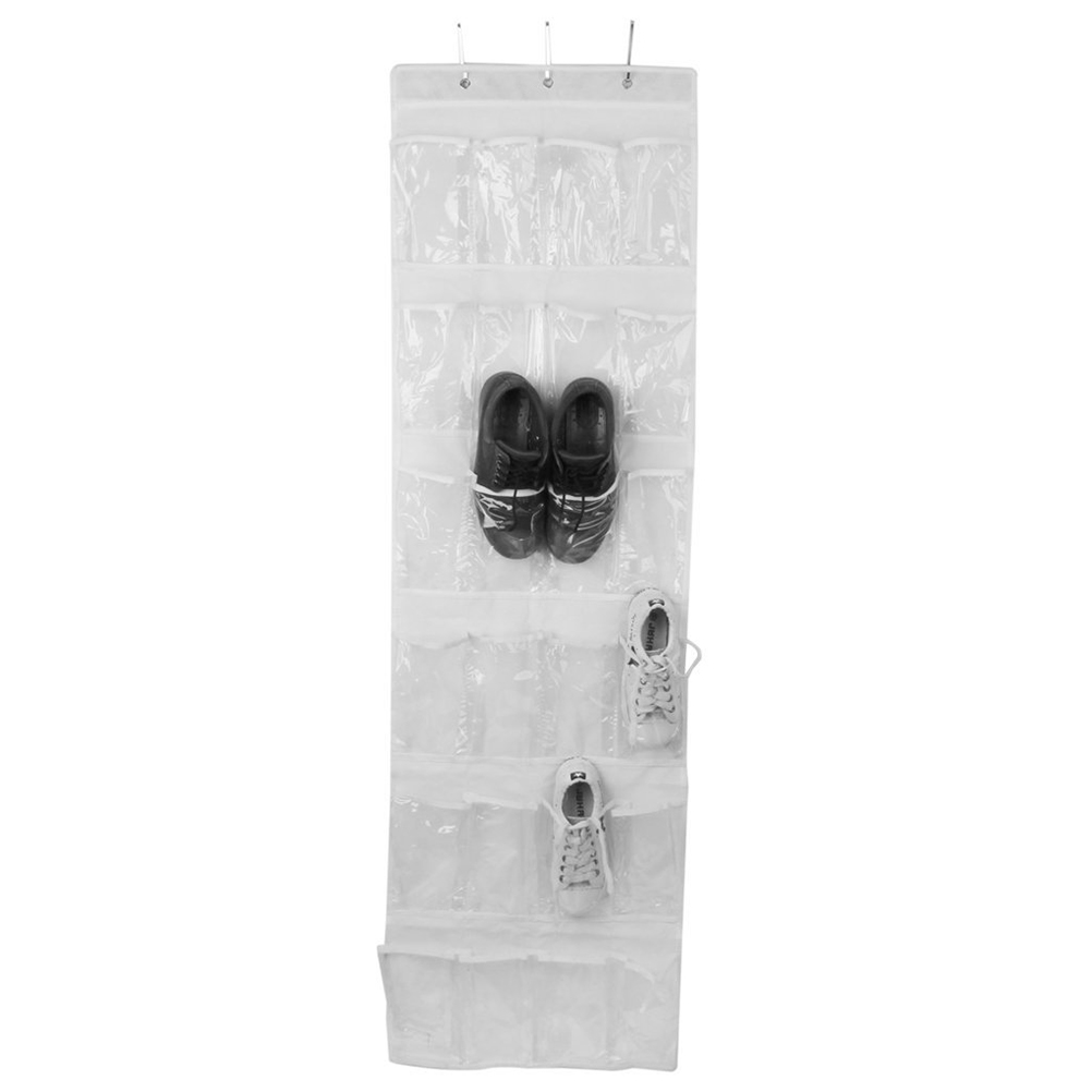 24 Zakken Rack Plank Opknoping Kast Voor Schoenen Kleding Speelgoed