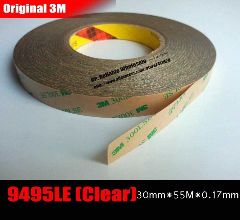 (30mm * 55 M * 0.17mm) 3 M ruban adhésif Double face haute liaison 300LSE pour haute température résister à la protection thermique dissipateur de chaleur LED LCD