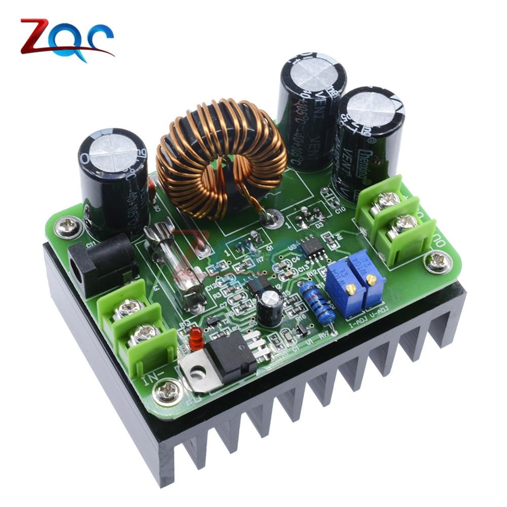 600W Boost Module Power supply DC-DC Step up Constant Current Voltage 10-60V to 12-80V 48V 72V Booster Converter