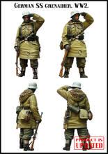 [Tuskmodel] 1 35 escala resina modelo figuras kit alemão e6