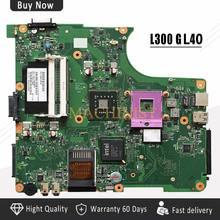 Слесарный L300 материнская плата для ноутбука Toshiba L300 L305 L350 материнская плата V000148370 6050A2264901-MB-A02