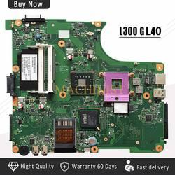 Mechanik L300 laptopa płyta główna do toshiba L300 L305 L350 płyta główna V000148370 6050A2264901 MB A02|Płyty główne do laptopów|   -