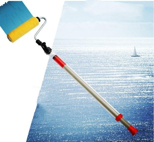 Livraison gratuite rouleau de peinture brosse stockage tuyau d'aspiration Type semi-automatique revêtement rouleau Machine Latex peinture rouleau brosse Machine