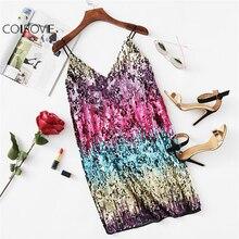 Mini párty šaty DÚHA Mini Party Dress RAINBOW