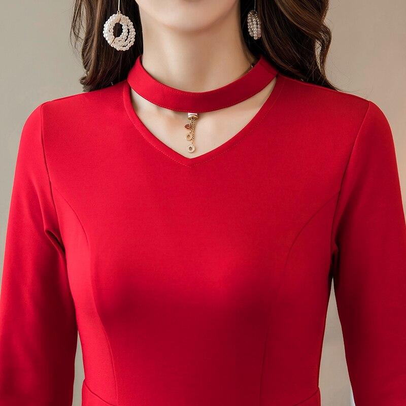 Mode Cultivées rouge Occasion Pincé Asymétrique Noir La Bal Kleid4xl De Partie Taille Femmes Plus Élégante Robe O0wknP8