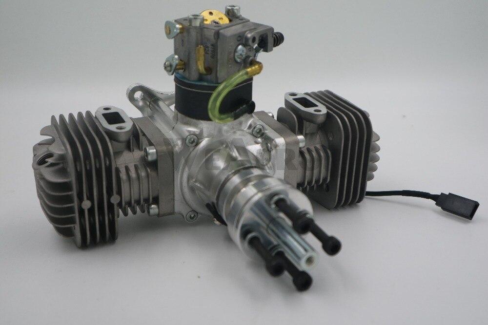 Nowy przyjazd! RCGF 50cc z podwójnym cylindrem benzyna/silnik benzynowy dla RC samolot w Części i akcesoria od Zabawki i hobby na  Grupa 2