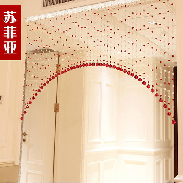 2015 Hot Sale Arch Crystal Bead Curtains For Hotel Office Or Home
