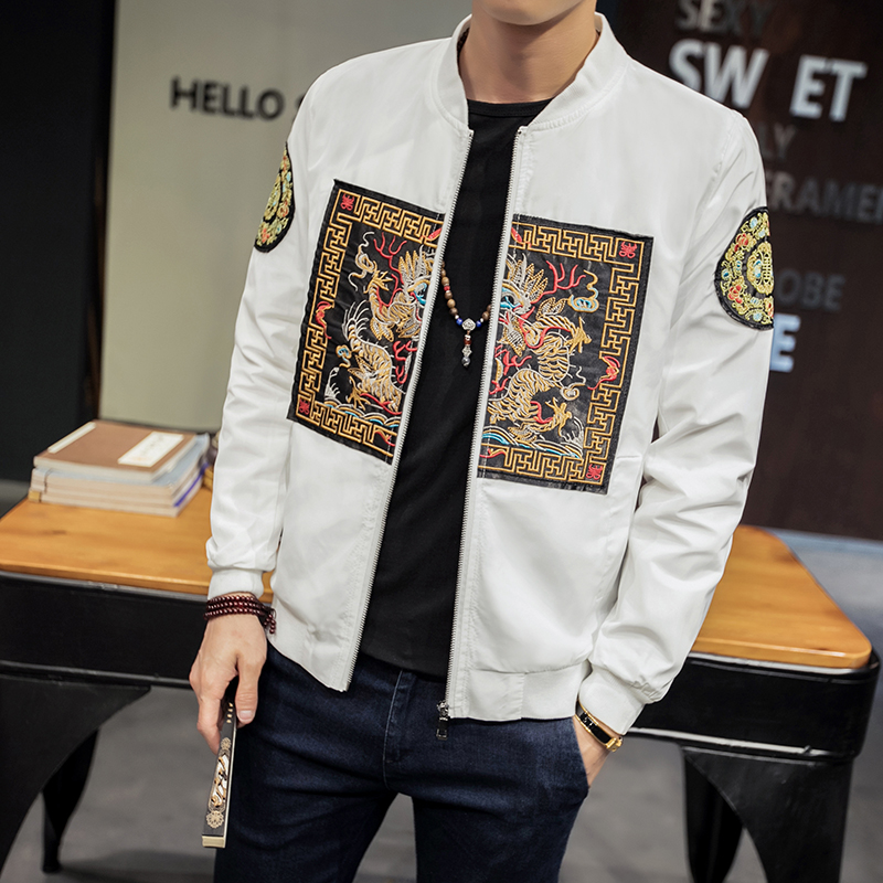 Bomber Jacket Men New Fashion Jackets Men Slim Fit