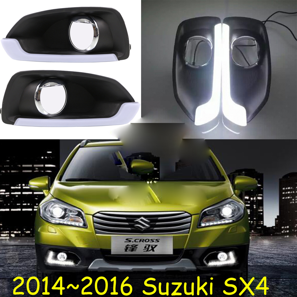 LED,2014~2016 SX4 daytime Light,SX4 fog light,SX4 headlight;Aerio,Ciaz,Reno,kizashi,s-cross,SX 4;SX4 head lamp лампа king page autumn a6 sx4 led