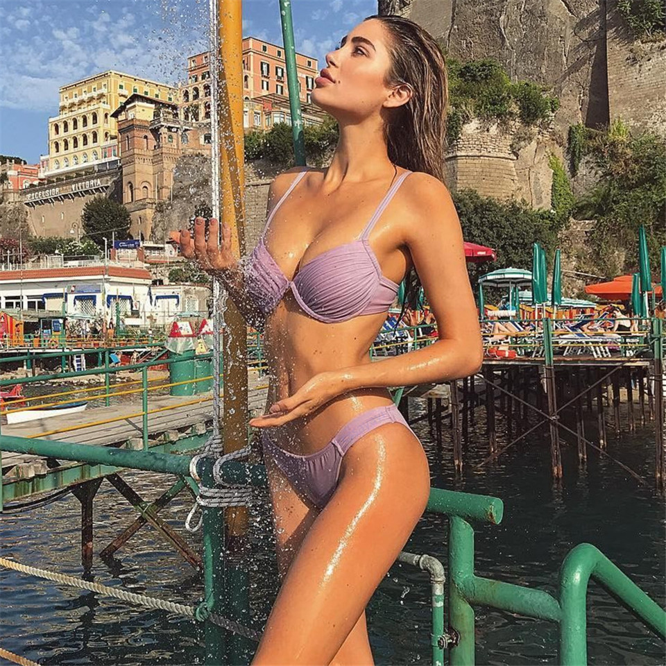 Neue Sexy Bikinis Set 2019 Mujer Bademode Frauen Badeanzug Micro Bikini Push Up Monokini Schwimmen Anzug Bade 2 Stück Badeanzug Noch Nicht VulgäR Sport & Unterhaltung