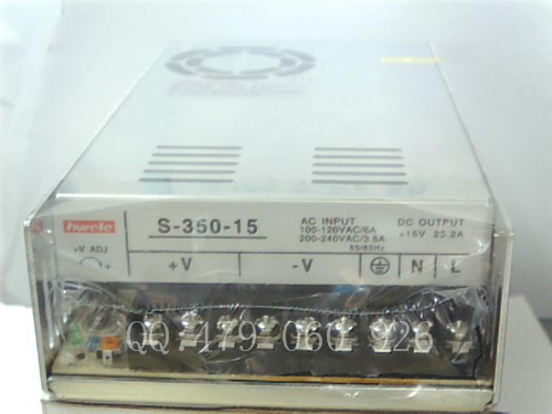 цена [ZOB] Heng Wei switching power supply S-350-15 15V23.2A
