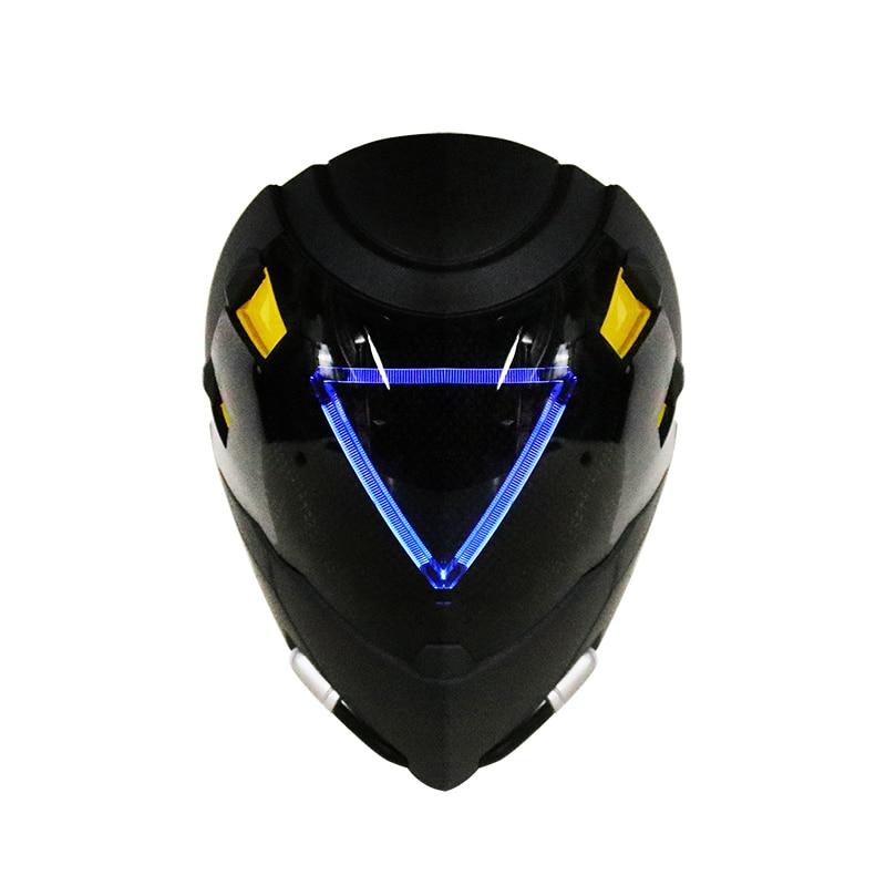 With Light FRP Ana Shrike Skin Masks With LED Ana Luminous Helmet For Cosplay Ana Costume