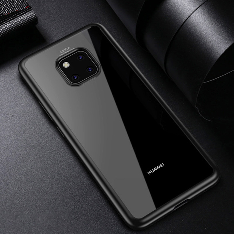 Fashion Back Cover for Huawei P20 P30 Mate 20 Pro Case Clear Transparent Honor 10 Lite Funda