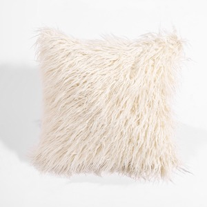 Image 3 - CAMMITEVER Simulation Fake fur Suede Luxury Cushion Cover Wholesale Decorative Throw Pillows For Sofa Car Chair Office Hotel