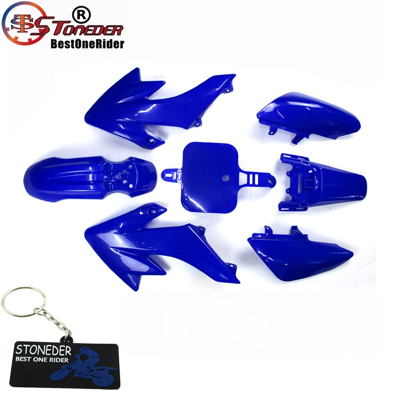Синий обтекатель, Пластиковый обтекатель для 50cc-125cc 140cc 150cc 160cc CRF50 XR50 SSR Thumpstar Pitsterpro Braaap