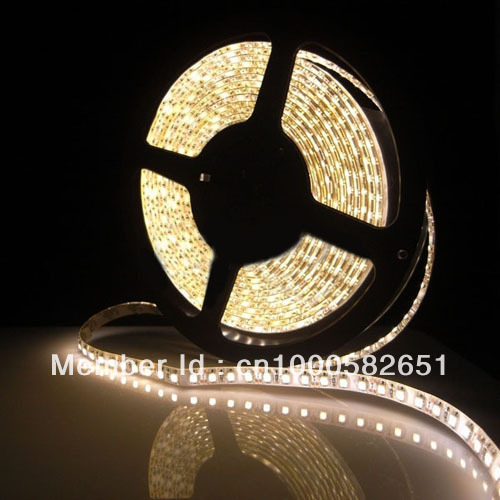 Warm White 5M Waterproof 300 LED 3528 SMD Flexible LED Light Lamp Strip 12V