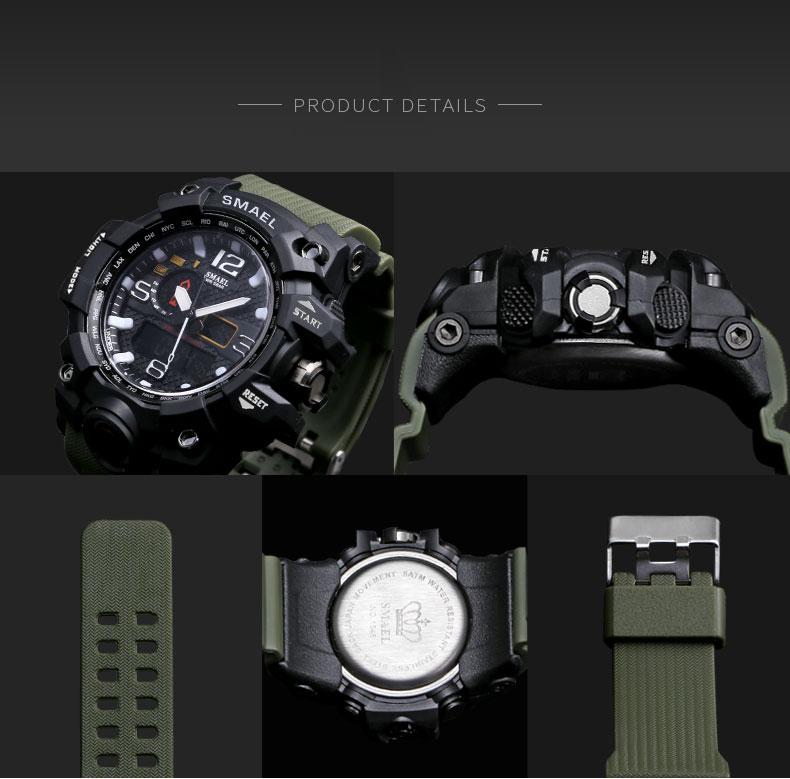 HTB10OPSSXXXXXX3apXXq6xXFXXXk - SMAEL MUDMASTER 2017 Fasion Sport watch for Men