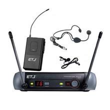 Frete grátis Top Quality Para ETJ PGX24 SM 58 BETA 58A 58 tipo Profissional sistema de Microfone Sem Fio