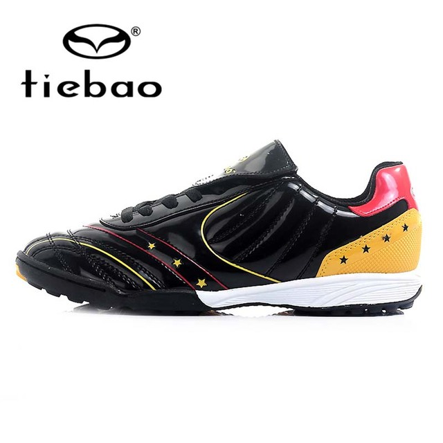0257614a591 TIEBAO Professional TF Turf Rubber Sole Football Boots Outdoor Soccer Shoes  Men Women Athletic Training Shoes crampons de foot