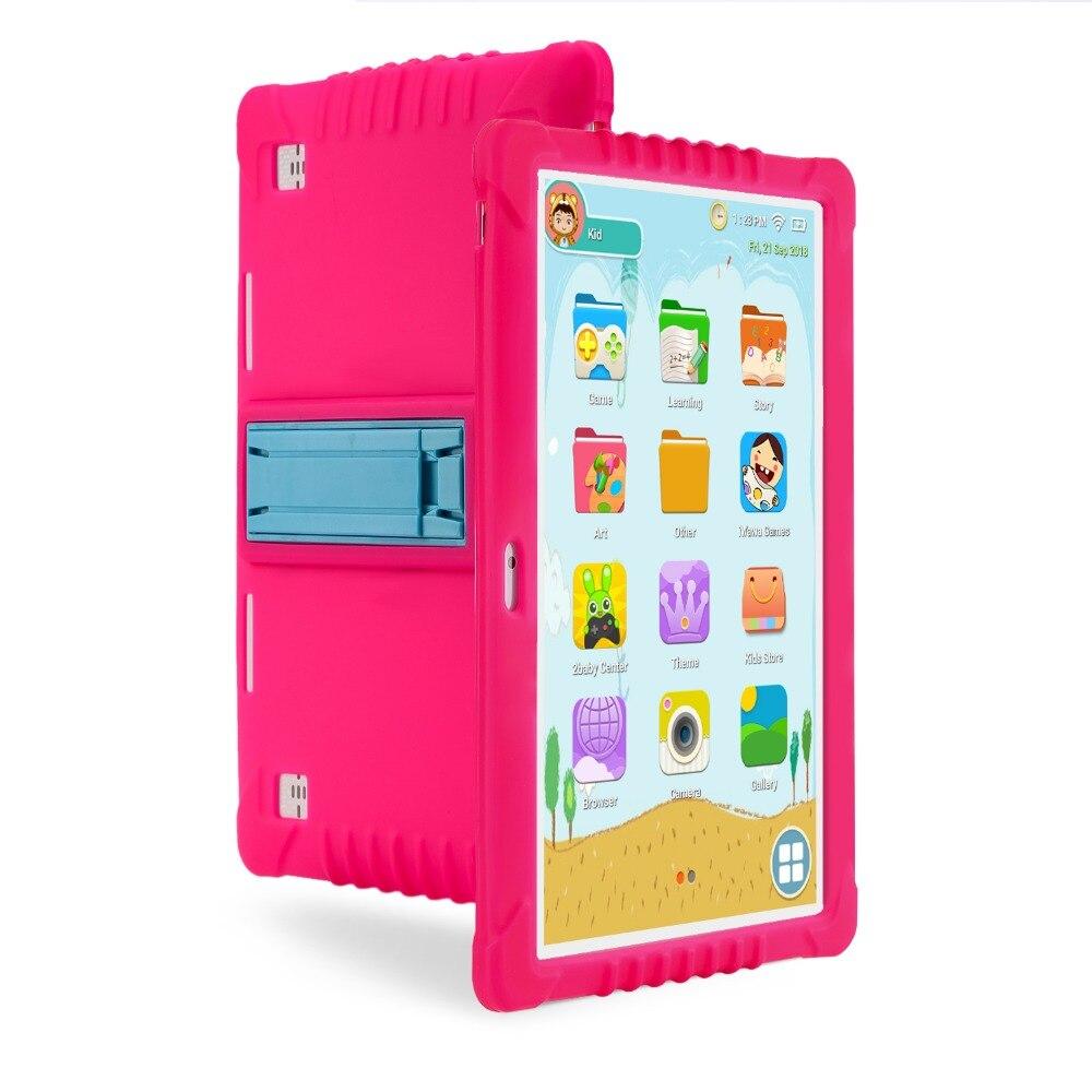 Детский планшетный ПК, SANNUO 10,1 четырехъядерный 3g детский сенсорный планшет, Android 6,0, полное развлекательное и обучающее программное обеспече