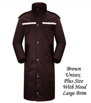 Plus Size Women Men Long Outdoor Work Raincoats Man Waterproof Long Jacket Trench Raincoat impermeable rain coat women