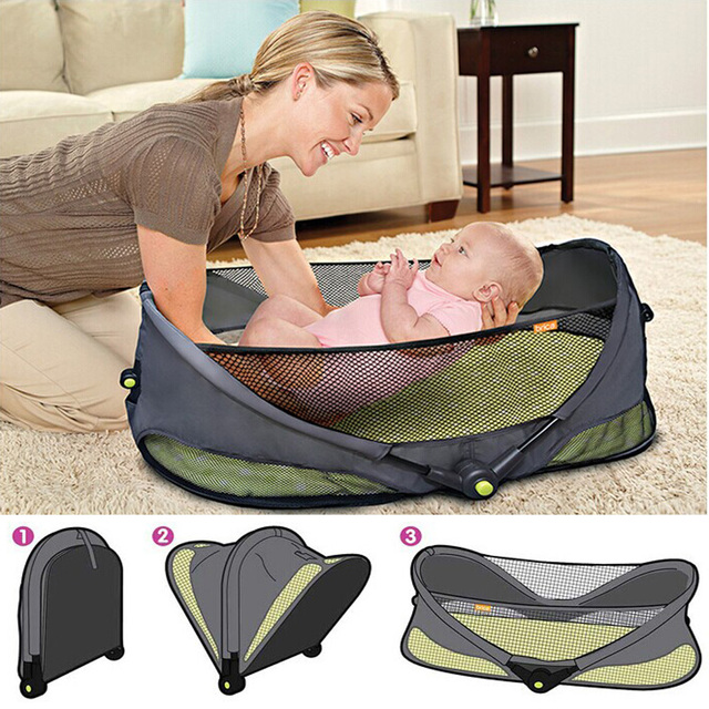 Fashion portable baby bed crib handbag simple baby bed bag mother bag multifunctional,hipseat travel bassinet baby bedding