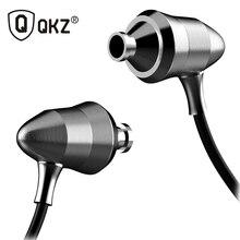 QKZ X6 In-ear Earphones Metal Version Professional Sound Quality Heavy Bass Headset Q Feeling Linear HIFI Fever Earplugs
