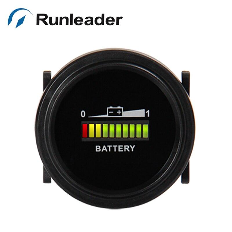 (15 шт.) RL BI002 12/24/36/48/72 В светодиодный Батарея индикатор зарядки для Гольф kart Электрический скутер погрузчик доставка по TNT для MX