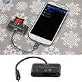 3 em 1 micro usb host hub sd tf cartão usb Flash Drive OTG Leitor Adaptador de Conexão Do Telefone Móvel Android com Cabo