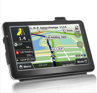 7 Inch HD Car GPS Navigator FM Bluetooth Mp3 Player 800MHZ 8GB DDR 128MB With Free