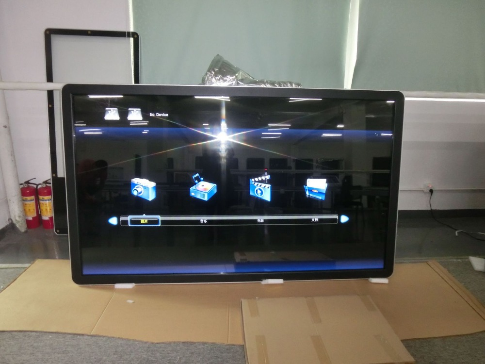 DIY PC buit in 65 70 84 98 дюймов 4K led lcd tft hd 1080p функция ТВ интерактивный сенсорный экран Смарт браслет