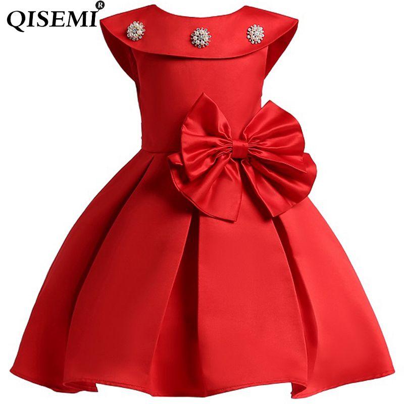 2018 Elegante Niñas Vestido Infantil Princesa Fancy Vestido