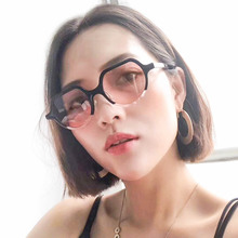 Cat Brand Women Sunglasses 2019 Fashion Round Retro Eye Sun Shades for Luxury Design Flat Top Vintage Style