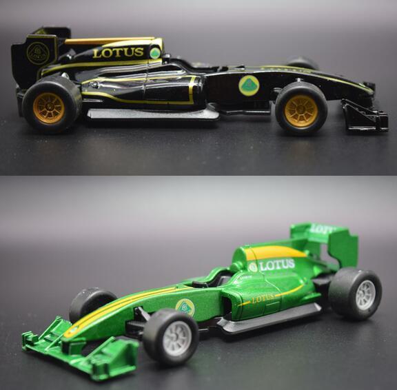 Candice guo aleación modelo de coche Lotus T125 estilo F1 Fórmula Uno de carreras de motor vehículo de colección de regalo De Navidad regalo de cumpleaños 1 unid