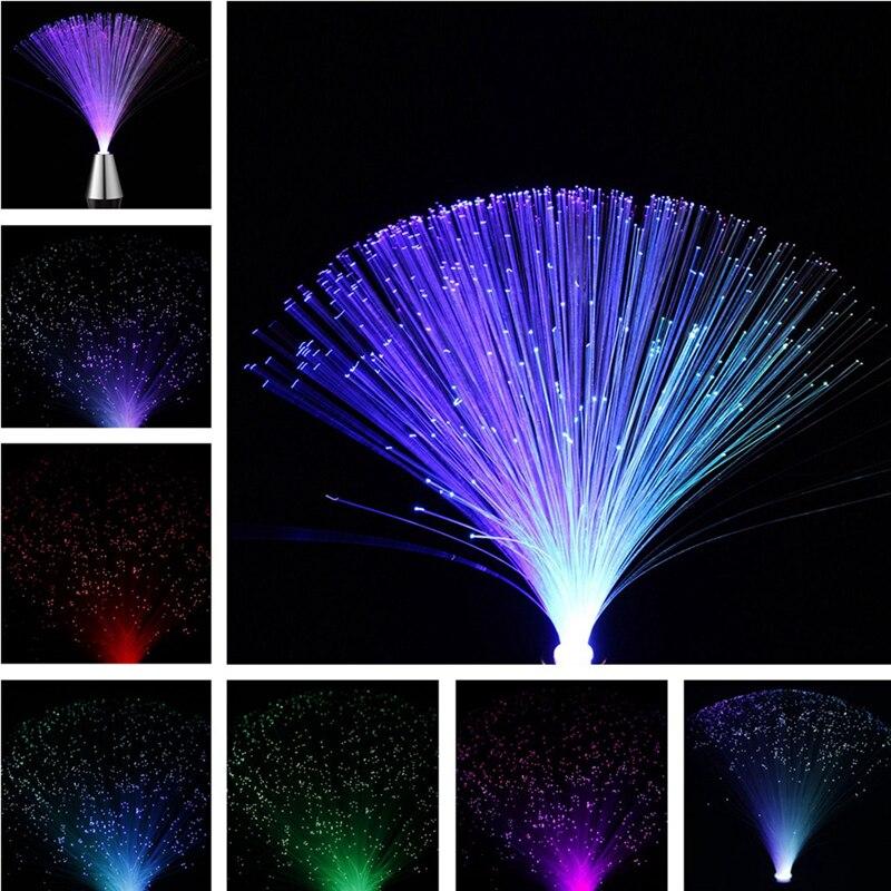 ARILUX Multicolor LED Fiber Optic Lamp Light Interior Decoration Centerpiece Holiday Wedding Lamp LED Light Lamp